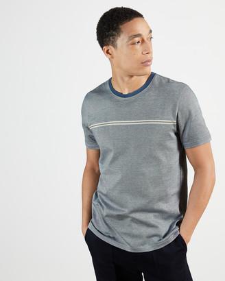 Ted Baker USHERS Stripe detail t-shirt