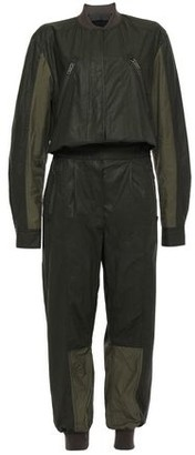 Haider Ackermann Paneled Coated Cotton-blend Twill Jumpsuit