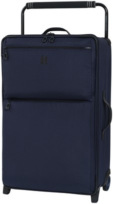"""it Luggage 29.6"""" World's Lightest Wide Handle Design Two Tone 2 Wheel Luggage"""