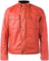Belstaff chest pocket bomber jacket - men - Cotton/Viscose - 48