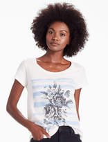 Lucky Brand Bees & Blooms Tee
