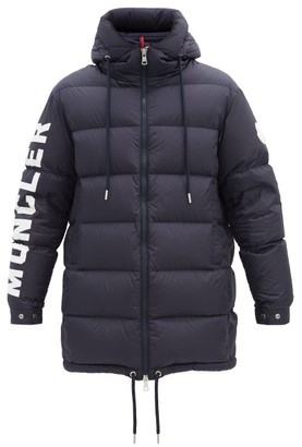 Moncler Moncenisio Down-quilted Padded Coat - Navy