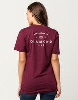 Diamond Supply Co. Womens Boyfriend Tee