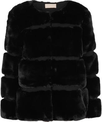 Keepsake Ariel black faux fur coat