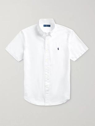 Polo Ralph Lauren Slim-Fit Cotton-Seersucker Shirt