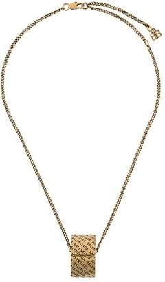 Balenciaga Skate necklace