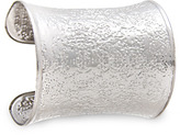 Embossed metallic cuff