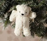 Pottery Barn Kids Sherpa Bear Ornament