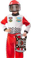 Melissa & Doug Kids' Race Car Driver Role Play Costume Set