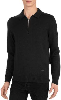 The Kooples Merino Half-Zip Sweater
