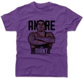 500 LEVEL Andre The Giant Sketch B Wrestling Kids T-Shirt 6-7Y
