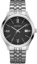 Bulova Caravelle New York by Men's Stainless Steel Bracelet Watch 41mm 43B144