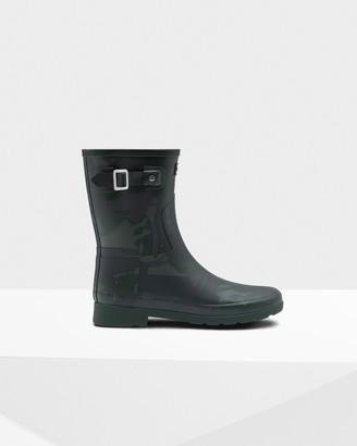 Hunter Women's Refined Slim Fit Short Rain Boots