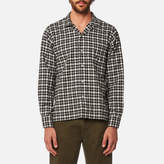 Universal Works Garage Shirt Olivera Check