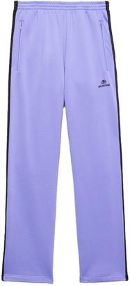 Balenciaga Lilac And Black Track Pants