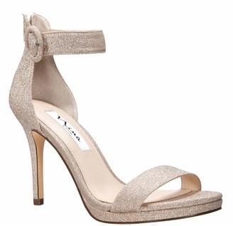 Nina Adjustable Platform Glitter Sandals - Rudia