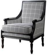 Uttermost Scott Wood Frame Accent Armchair