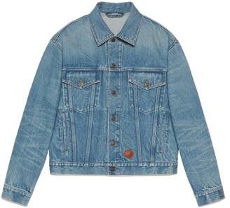 Gucci Disney x eco washed denim jacket