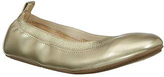 Yosi Samra Girls' Ballet Flats GOLD - Gold Metallic Miss Samara Flat - Girls