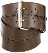 Schumacher Leather Wide Belt w/ Tags
