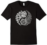 "Men's Official ""Yin Yang Good and Evil"" Epic Gaming Dice T-shirt Large"