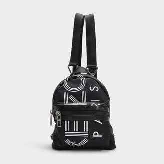 Kenzo Sport Mini Rucksack In Black Nylon