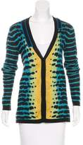 Proenza Schouler Silk Patterned Cardigan