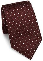 Armani Collezioni Dots Silk Tie