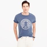 J.Crew Garment-dyed ship's wheel T-shirt