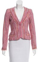 Chanel Tweed Fringe-Trimmed Jacket