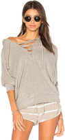 Chaser Dolman Hoodie in Gray