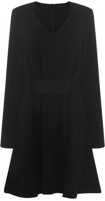 Armani Exchange Long Sleeve Dress