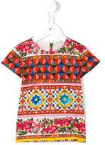 Dolce & Gabbana Mambo print T-shirt - kids - Cotton - 24 mth