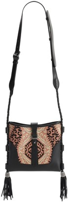 Etro Sm Eivissa Jacquard & Leather Bag