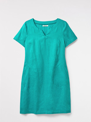 White Stuff Sprig Linen Dress