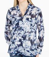 GUESS Indigo Floral Shirt