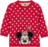 Cath Kidston Mickey Button Spot Placement Jumper