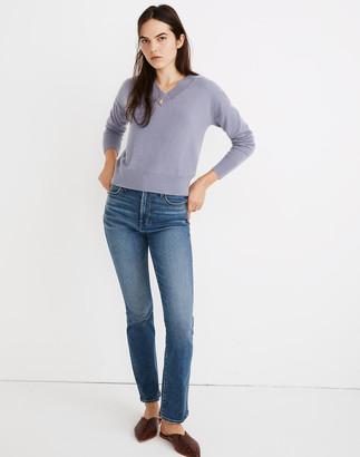 Madewell Cashmere V-Neck Sweater