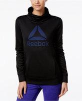 Reebok Speedwick Cowl-Neck Graphic Sweatshirt