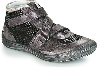 GBB RIQUETTE girls's Shoes (High-top Trainers) in Grey