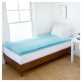 """Authentic Comfort 2"""" Gel Swirl Memory Foam Dorm Mattress Topper - Authentic Comfort®"""