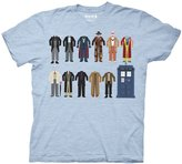 Doctor Who Doctor Outfits with TARDIS Men's T-shirt