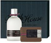 Bath House Cologne + Soap Gift Set - Cuban Cedar Lime