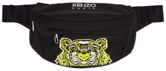 Kenzo Black Limited Edition High Summer Tiger Belt Bag