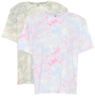 Frankie Shop Exclusive to Mytheresa Jeanette set of 2 tie-dye T-shirts