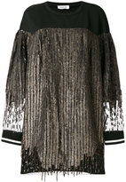 Aviu sequin jumper dress