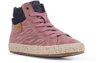 Geox Kids' Kalispera 37 High Top Sneaker
