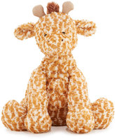 Jellycat Huge Fuddlewuddle Giraffe Stuffed Animal, Tan/Cream
