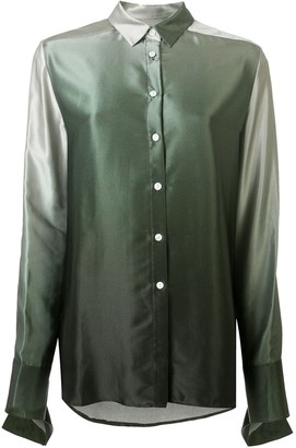 CHRISTOPHER ESBER Buttoned Ombre Shirt