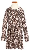 Splendid Girl's Animal Print Loose Knit Dress